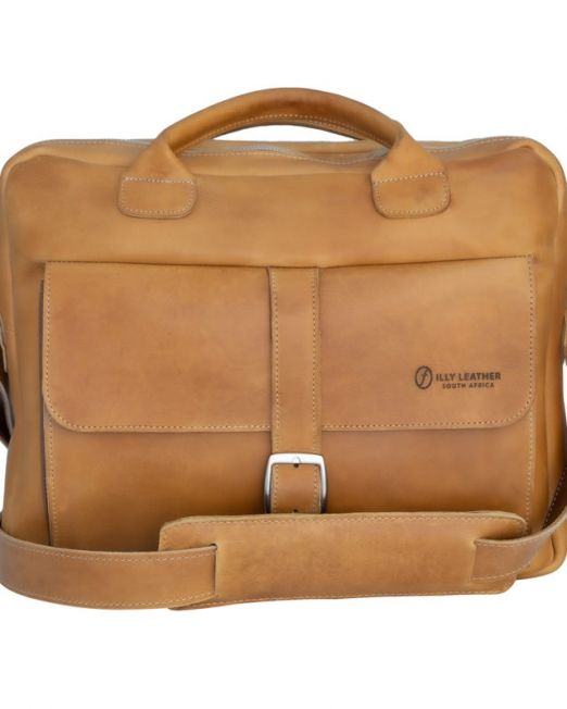 800090 Roger laptop bag double zip