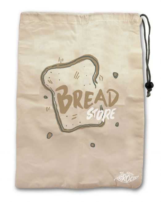 801874 - Green Groccer Bread Bag
