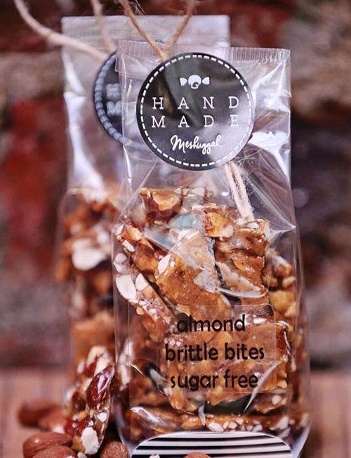 804012 - almond brittle bites sugar free