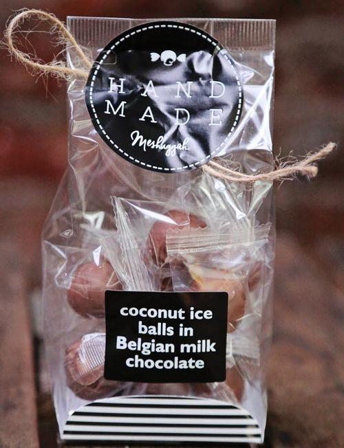 804056 - coconut ice balls in belgian choc