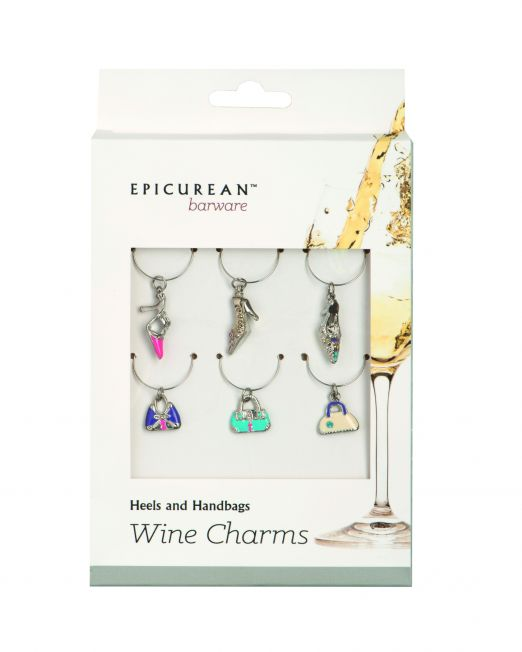 804097 -ED39WM04 - Wine Charms Heels & Handbags