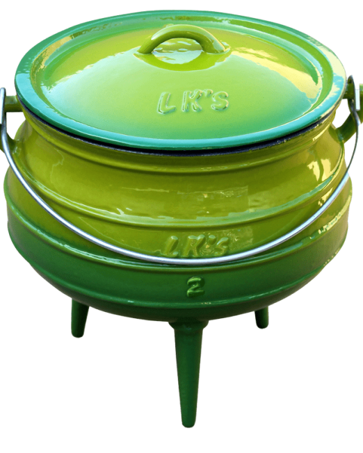 862640 146-1-green-no2-3-legged-pot
