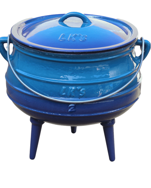 862645 147-1-n2-blue-3-legged-pot