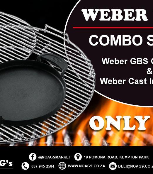 Weber week combo special